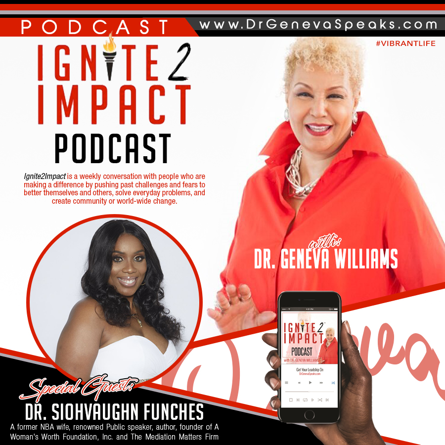 Dr  Siohvaughn L  Funches: The WOW Foundation on a Mission to Help